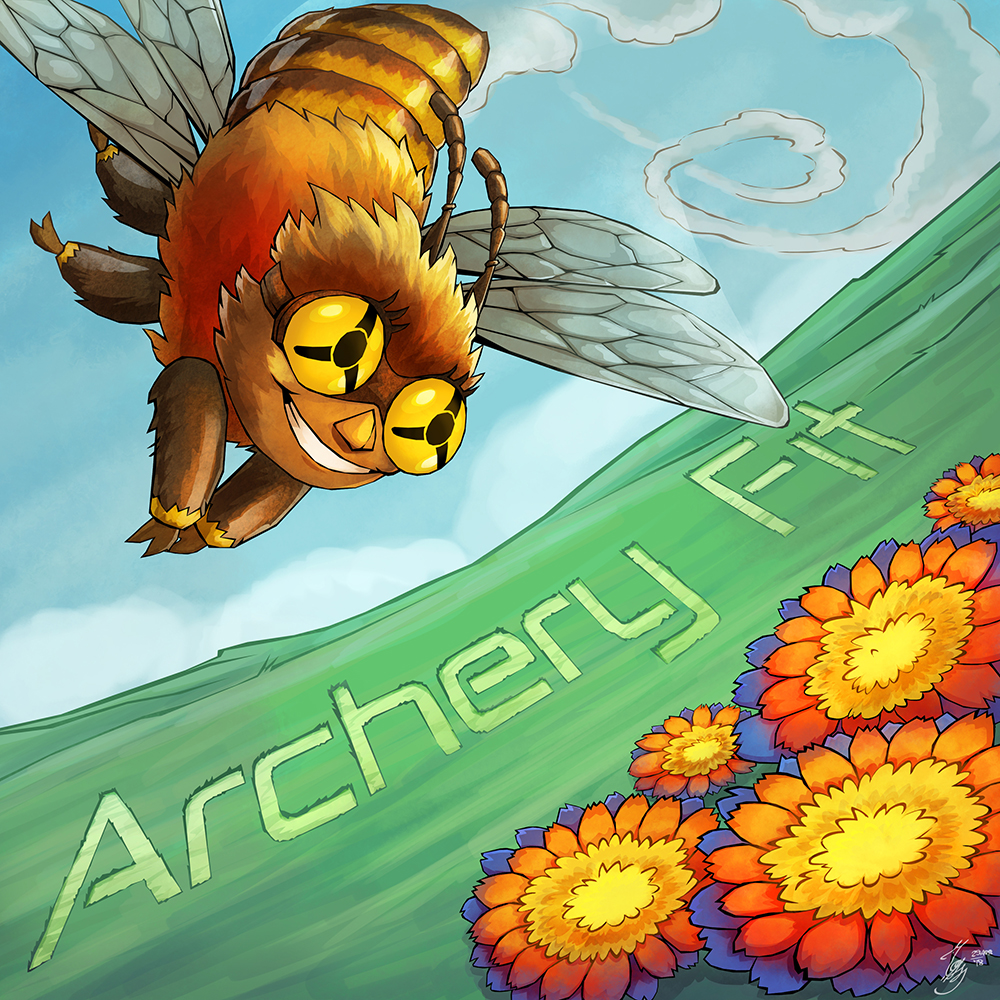 Archery Fit is bee colored and business oriented :)