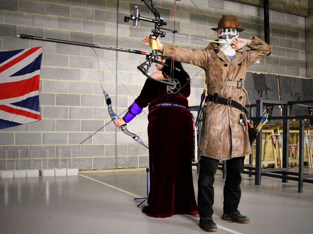 Rorschach at Archery Fit.