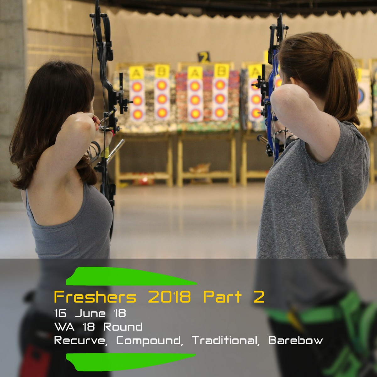 Archery Fit: Freshers 2018 Part 2